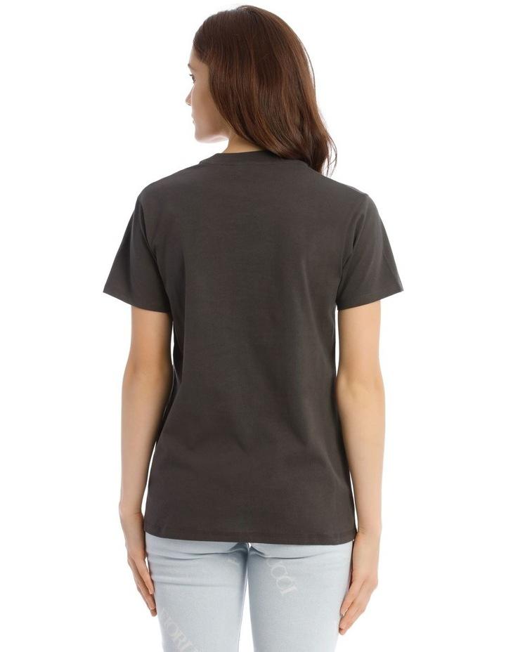 Vintage Angels T-Shirt in Dark Grey image 3