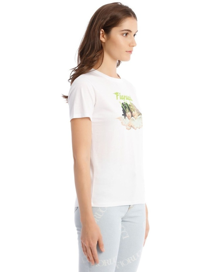 Angels Laser T-Shirt in White image 2