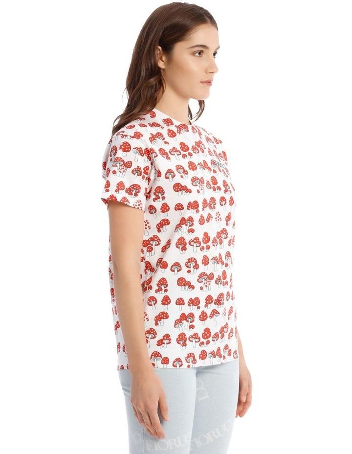 All-Over Mushroom Oversized T-Shirt image 2