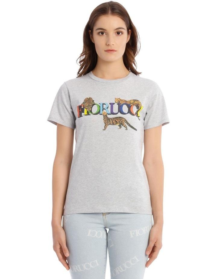 Wildcat Graphic T-Shirt in White image 1