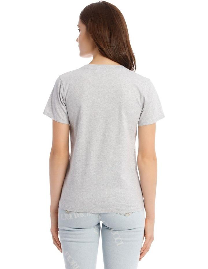 Wildcat Graphic T-Shirt in White image 3