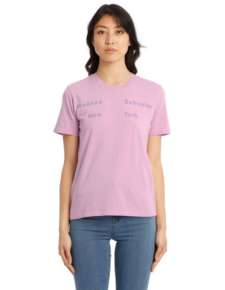 NY Print Short Sleeve Jersey T-Shirt image 1