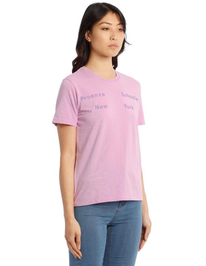 NY Print Short Sleeve Jersey T-Shirt image 2