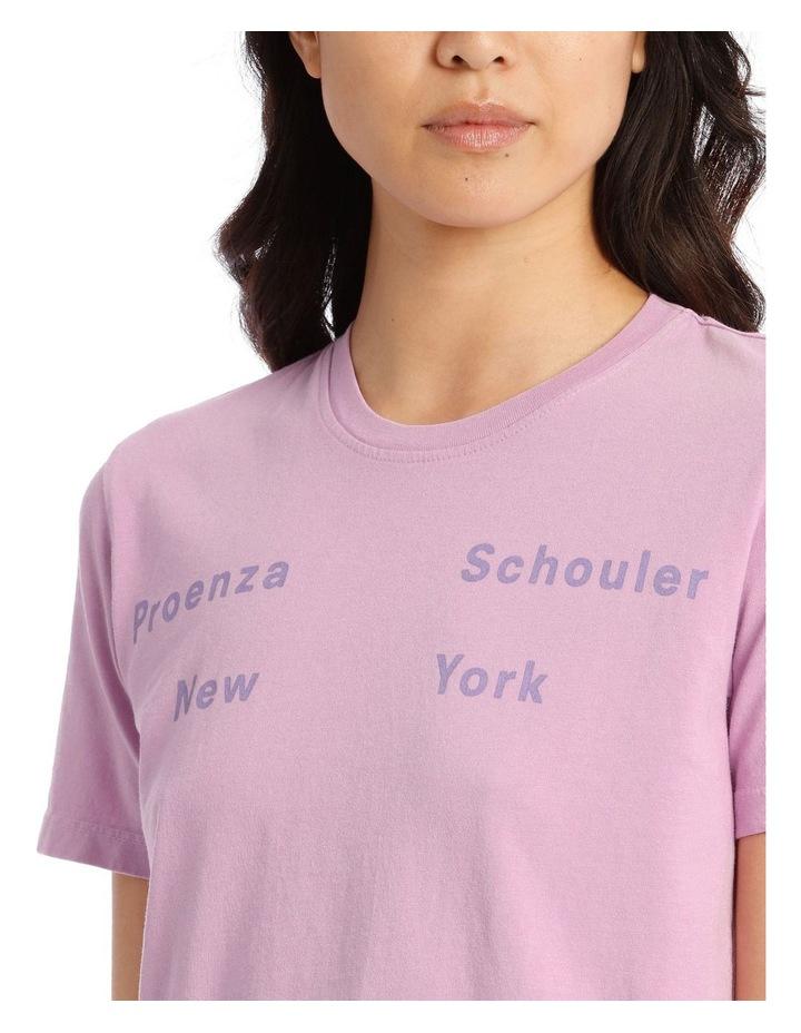 NY Print Short Sleeve Jersey T-Shirt image 4