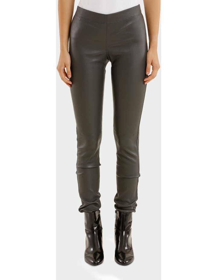 Leather Stretch Pant image 1