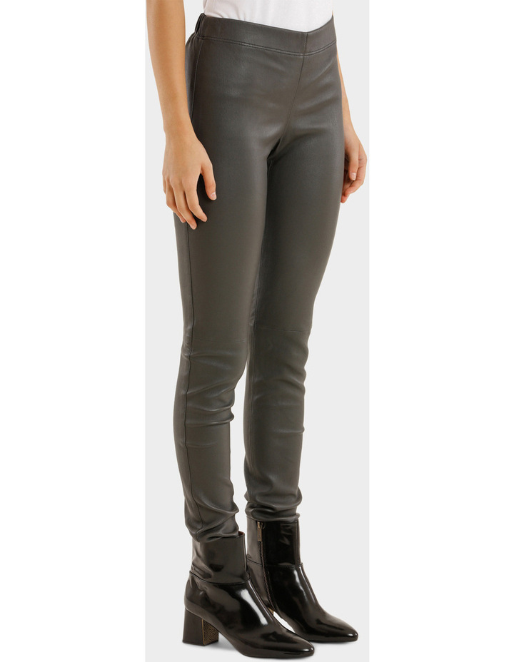 Leather Stretch Pant image 2