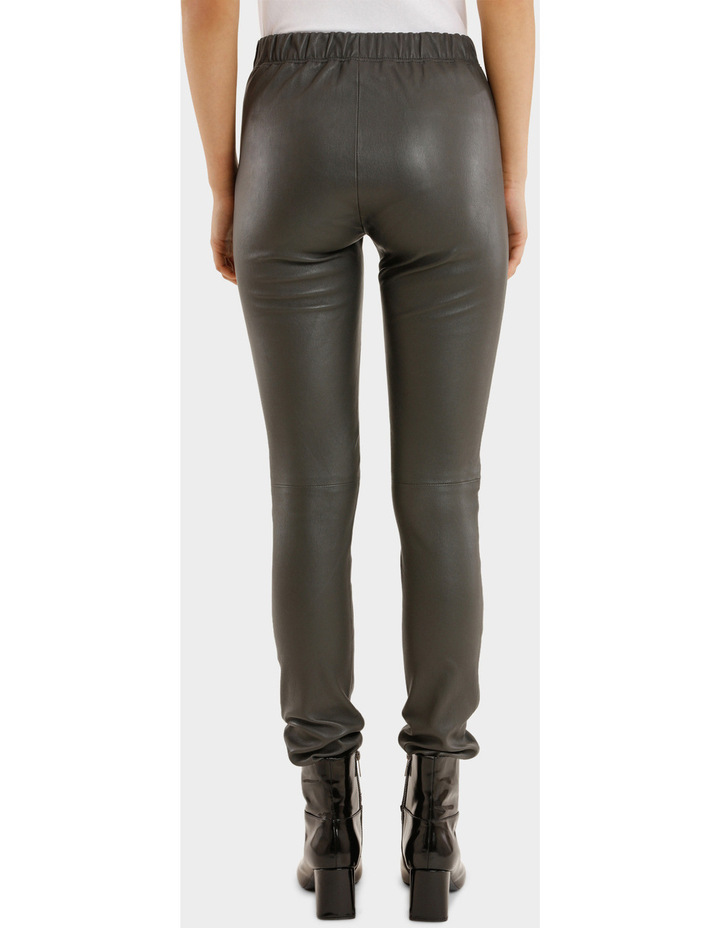 Leather Stretch Pant image 3