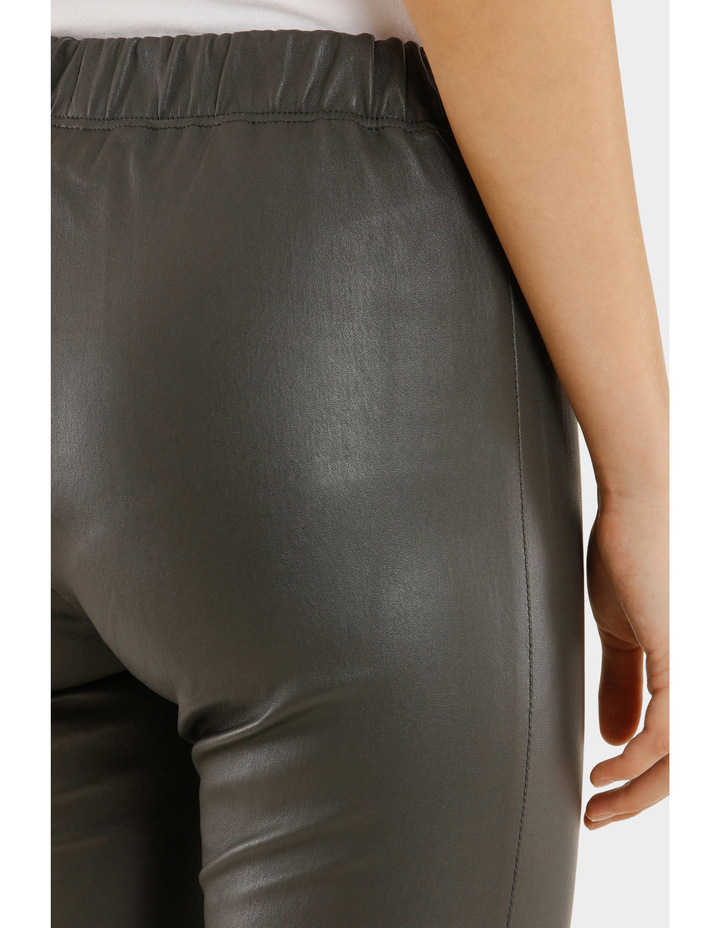 Leather Stretch Pant image 4