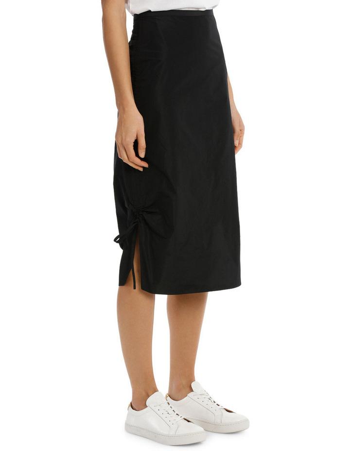 Midi Pencil Skirt Drawstring image 2