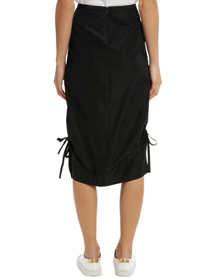 Midi Pencil Skirt Drawstring image 3