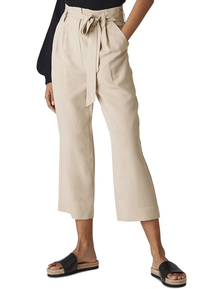 Paper Bag Belted Trouser image 1