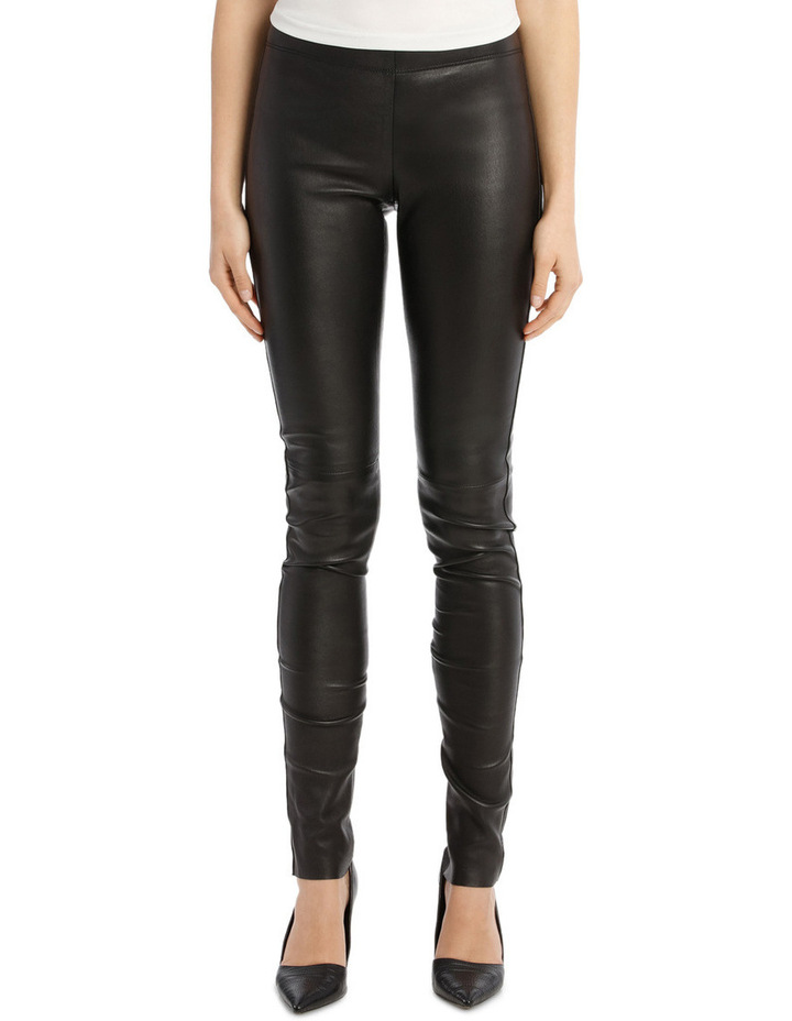 Stretch Leather Trousers image 1