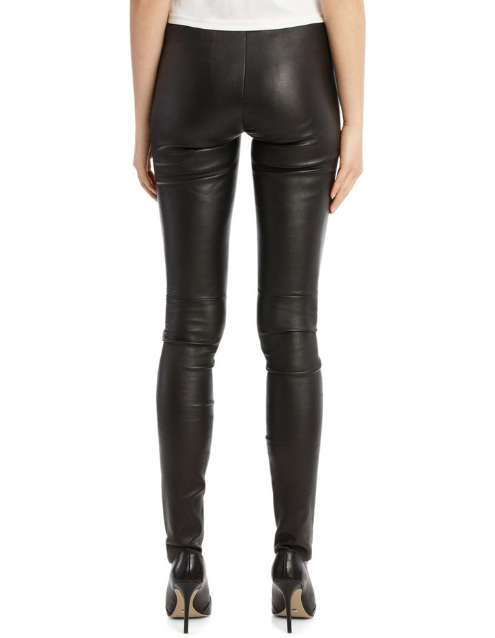 Stretch Leather Trousers image 3