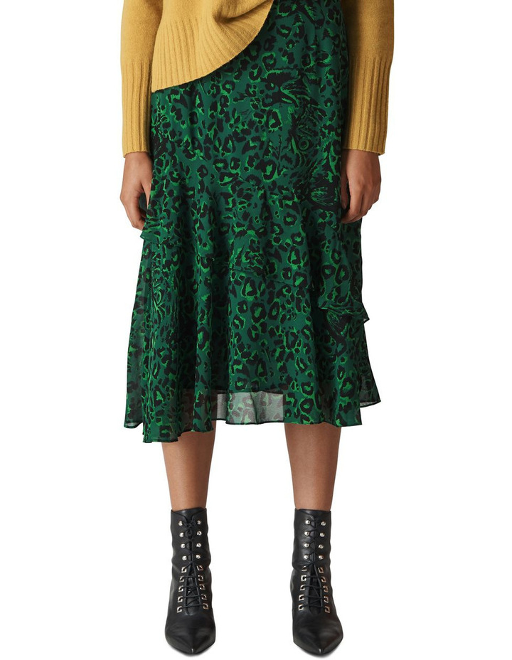 f20b0658c Whistles | Jungle Cat Print Skirt | MYER