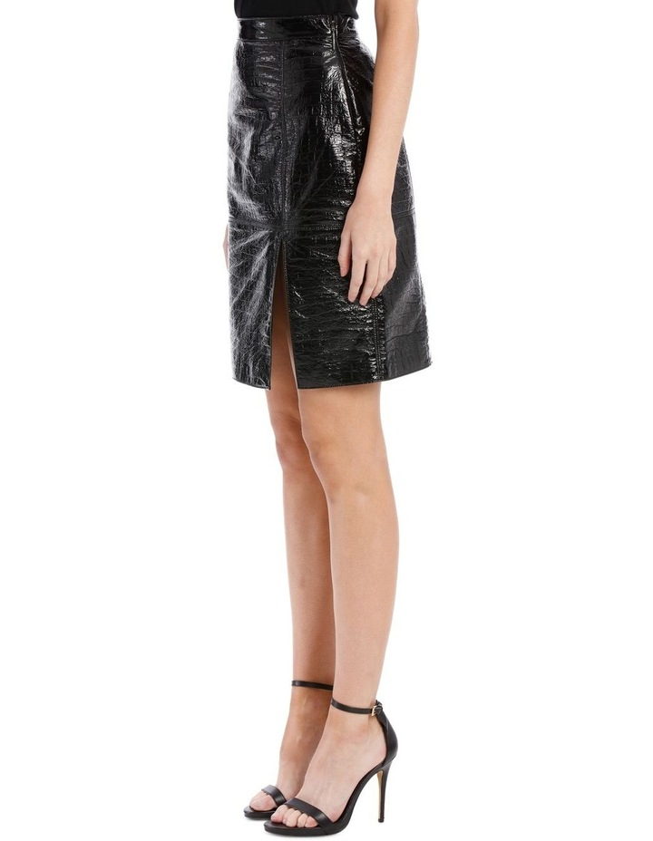 Faux Patent Skirt (Coco Effect) image 2