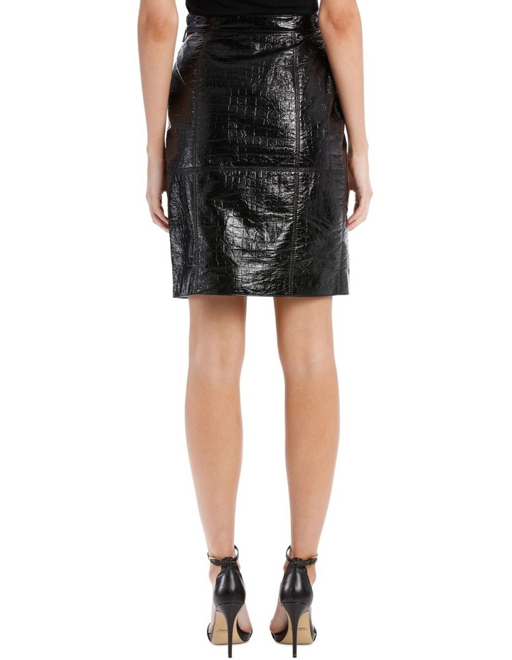 Faux Patent Skirt (Coco Effect) image 3