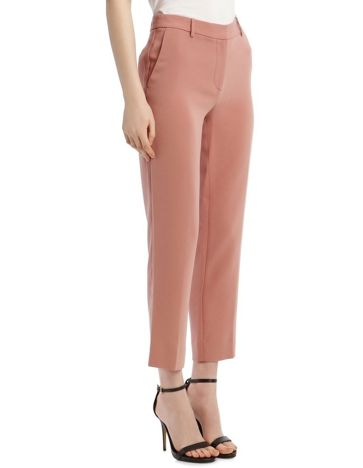 'Tami' Straight-Leg Trousers - Rose image 2
