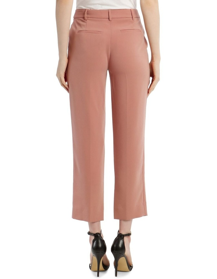 'Tami' Straight-Leg Trousers - Rose image 3