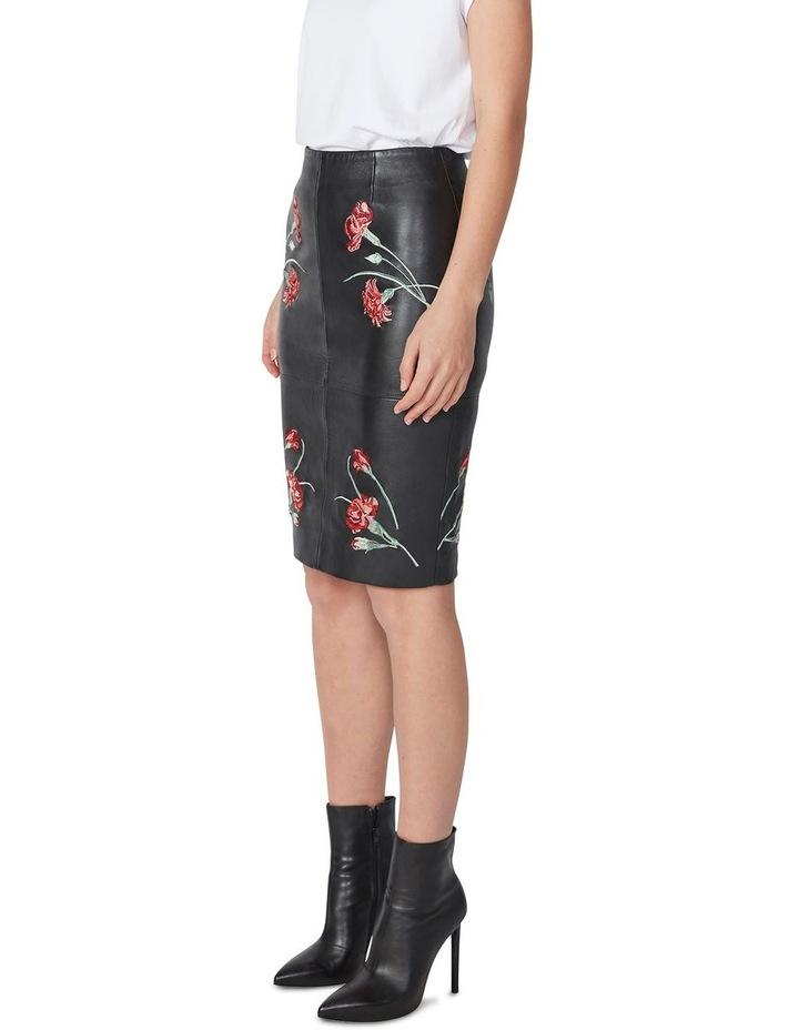 Jardin Leather Pencil Skirt image 2