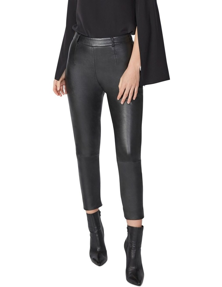 Cropped Leather Pants image 1