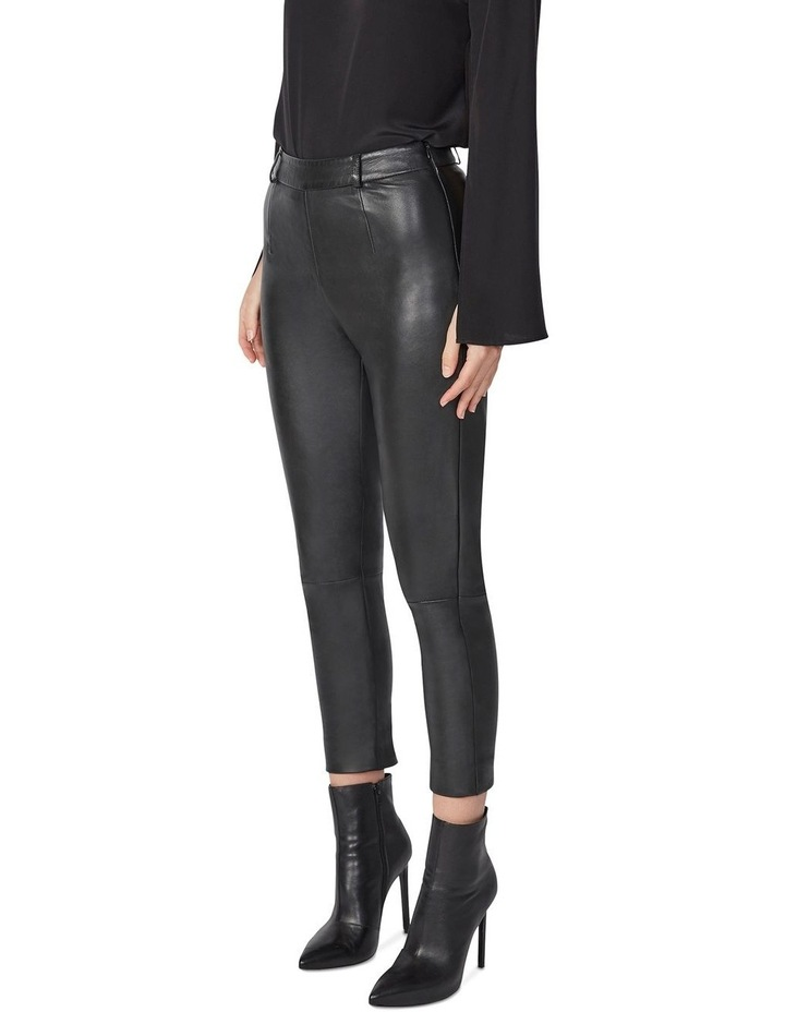 Cropped Leather Pants image 2