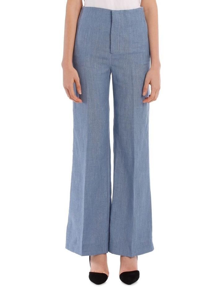 Kirk Linen Silk Tailoring Trousers image 1