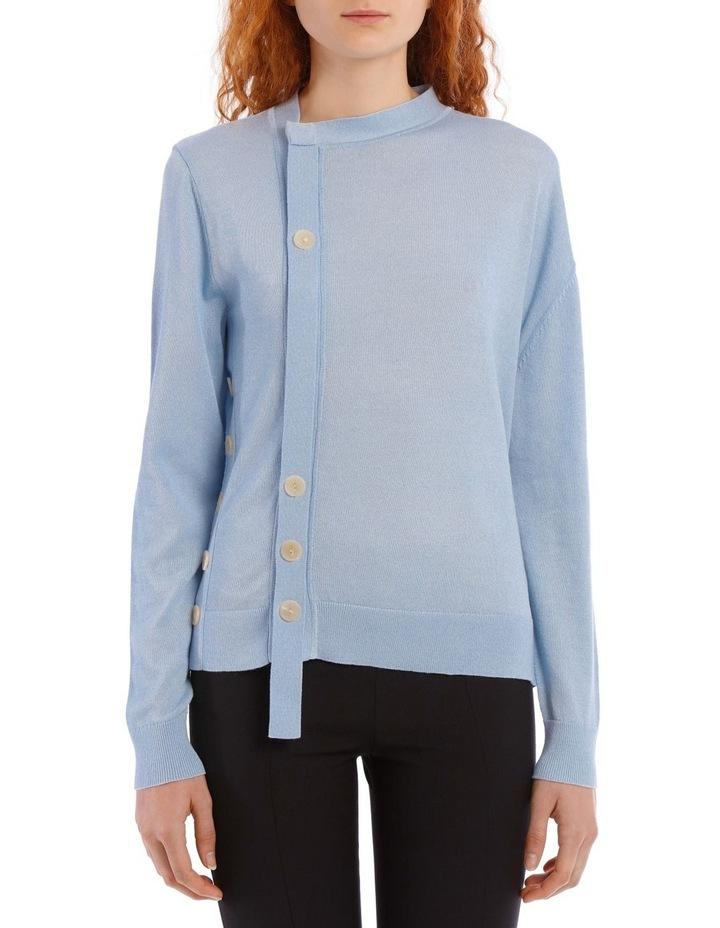 Mercerized Knit Knitwear Cardi image 1
