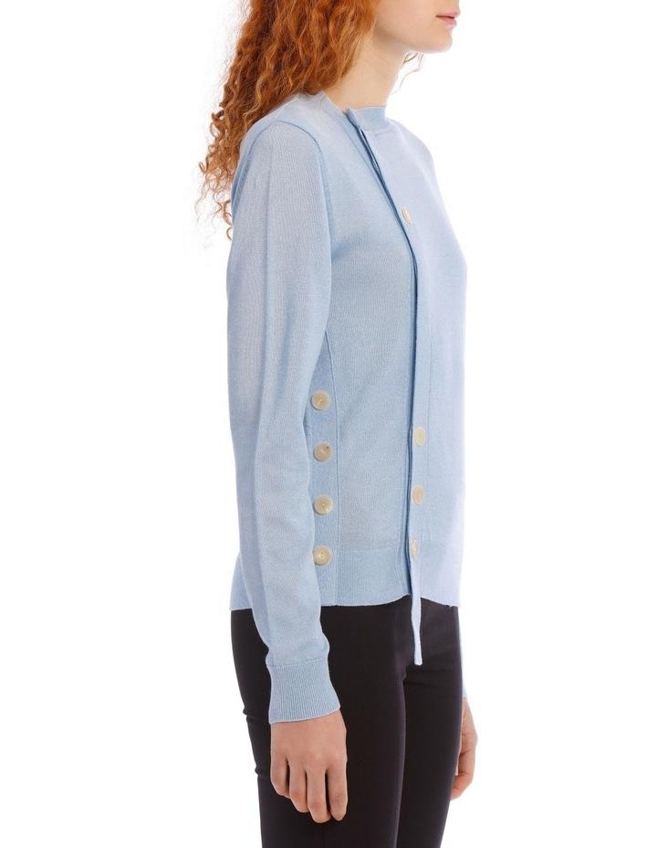 Mercerized Knit Knitwear Cardi image 2