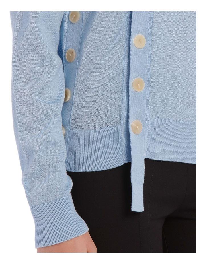 Mercerized Knit Knitwear Cardi image 4