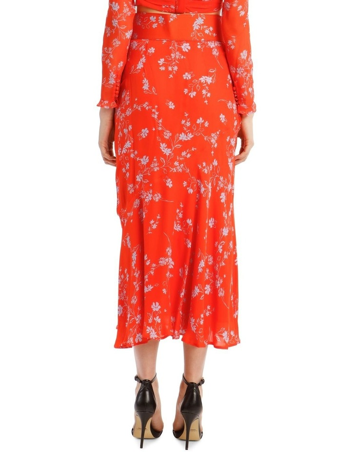 Side Gathered Poppy Multi Skirt image 3