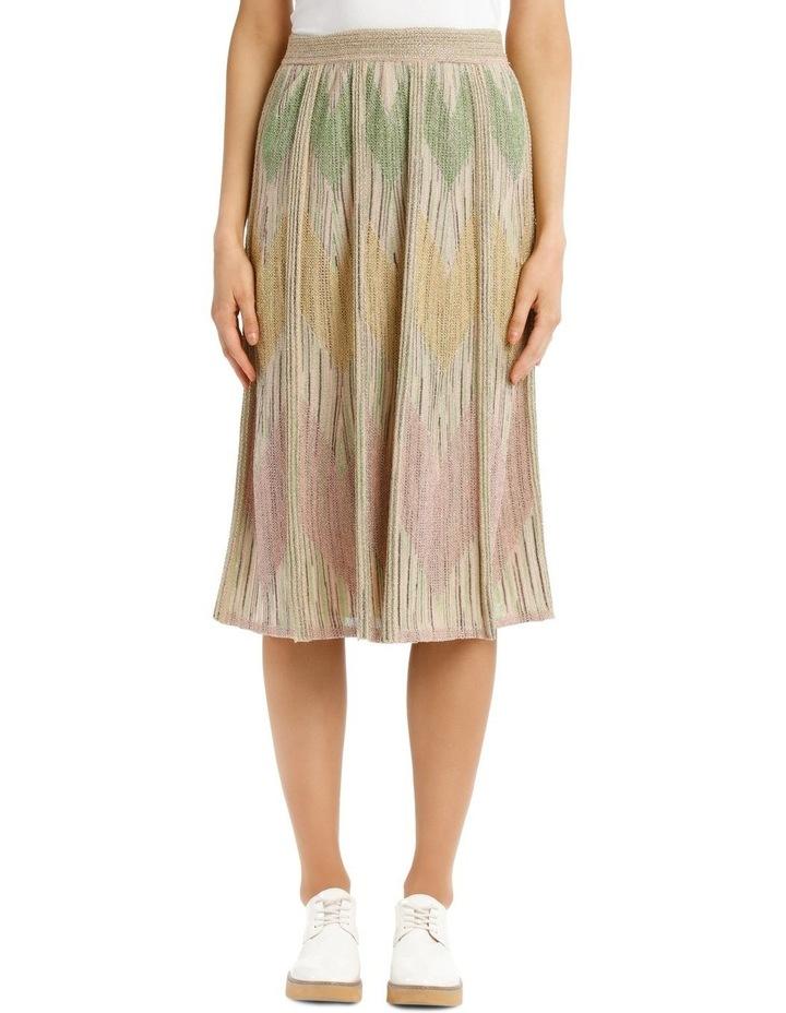 Metallic Knitted Skirt image 1