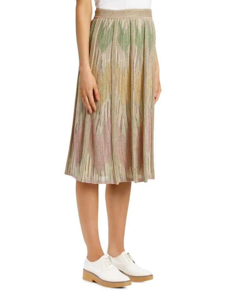 Metallic Knitted Skirt image 2