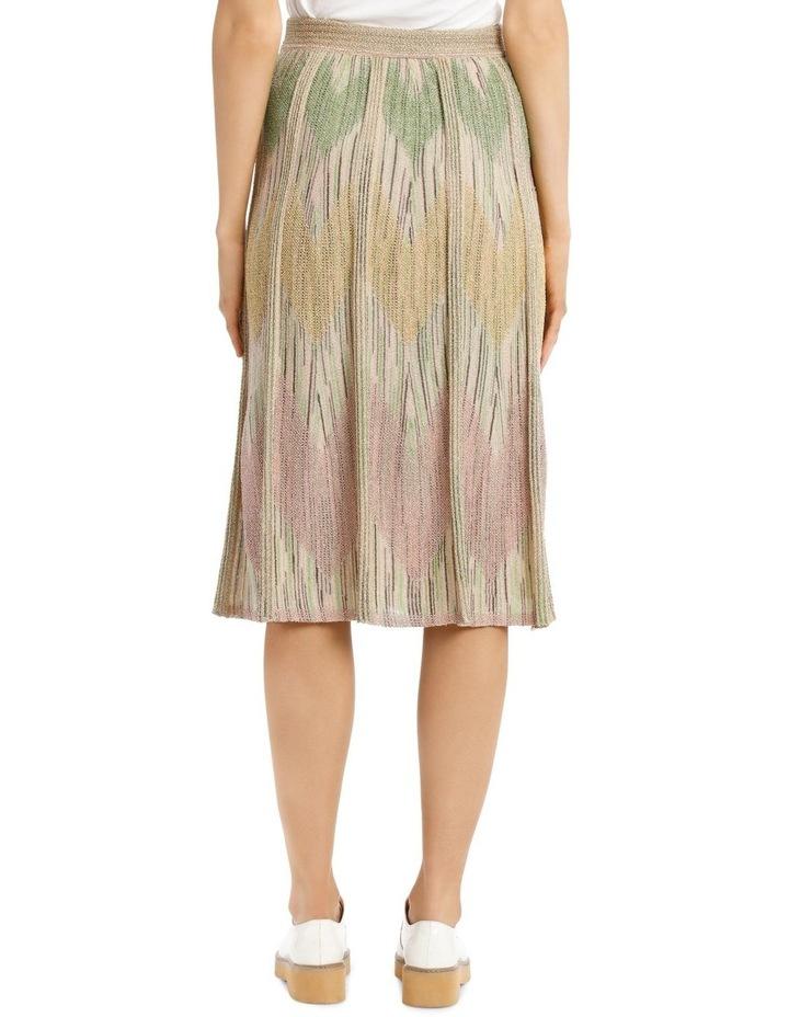 Metallic Knitted Skirt image 3