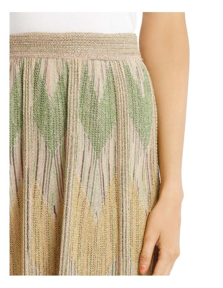 Metallic Knitted Skirt image 4
