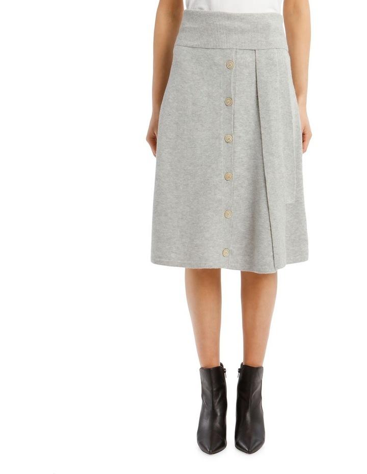 Cosy Wool Midi Knit Skirt image 1