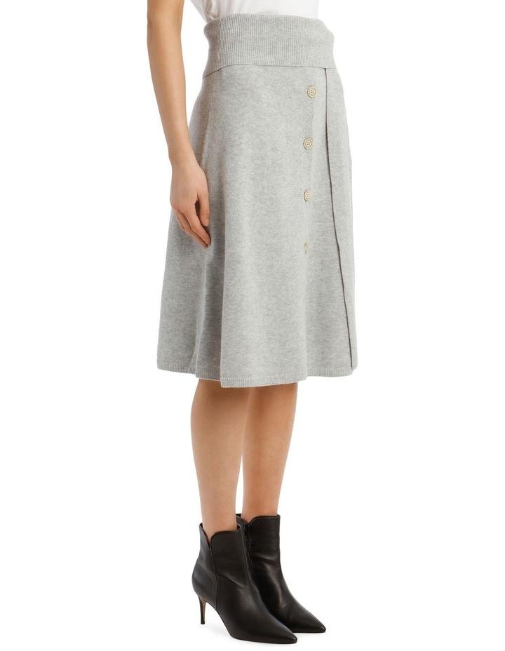 Cosy Wool Midi Knit Skirt image 2
