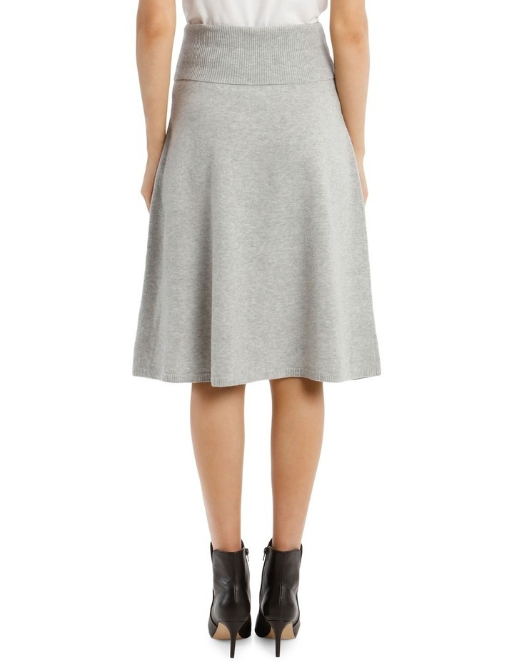 Cosy Wool Midi Knit Skirt image 3