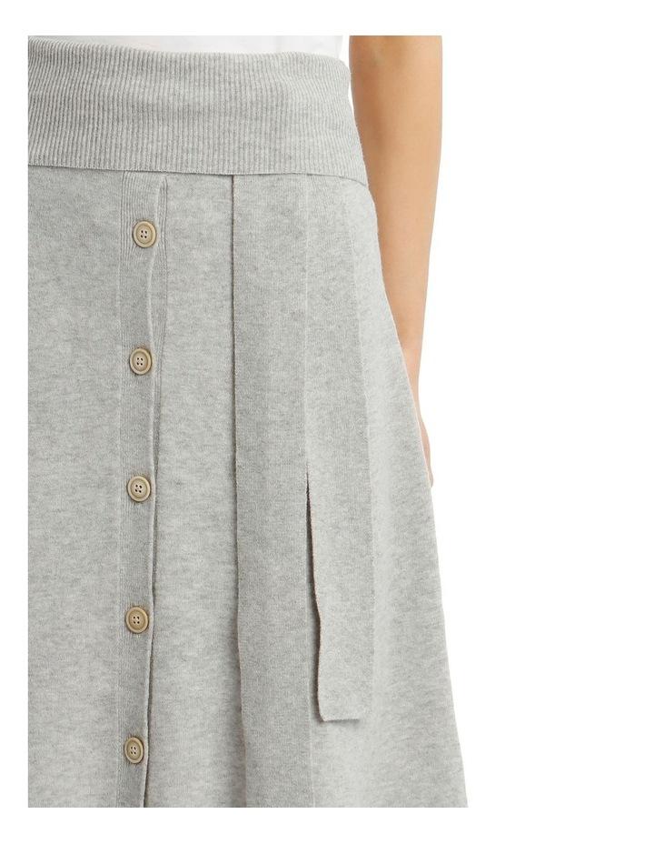 Cosy Wool Midi Knit Skirt image 4