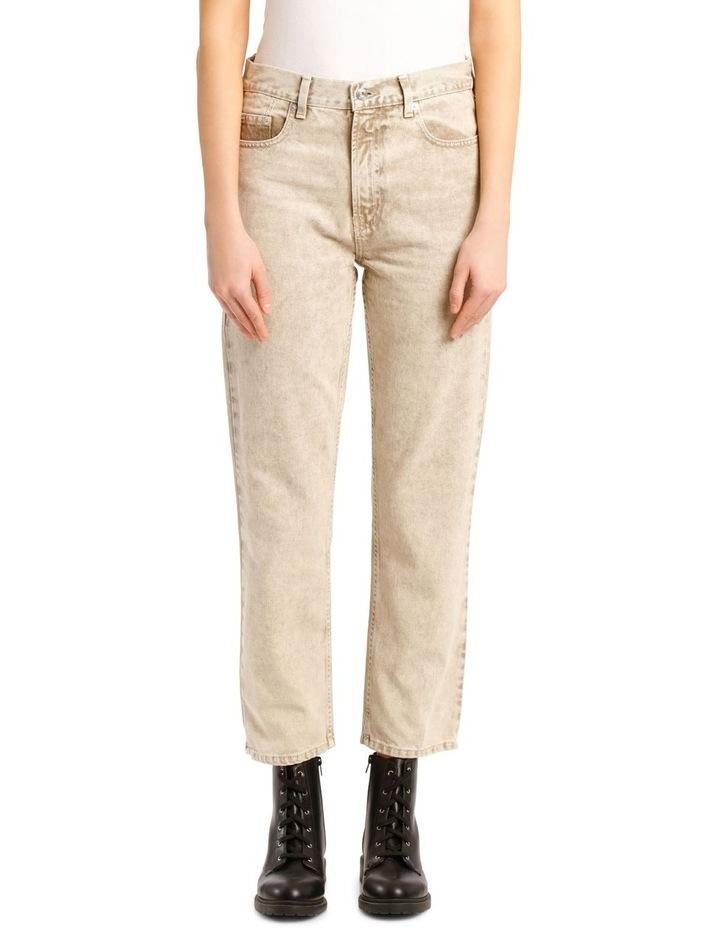 Kick Denim Cropped Straight Pants image 1