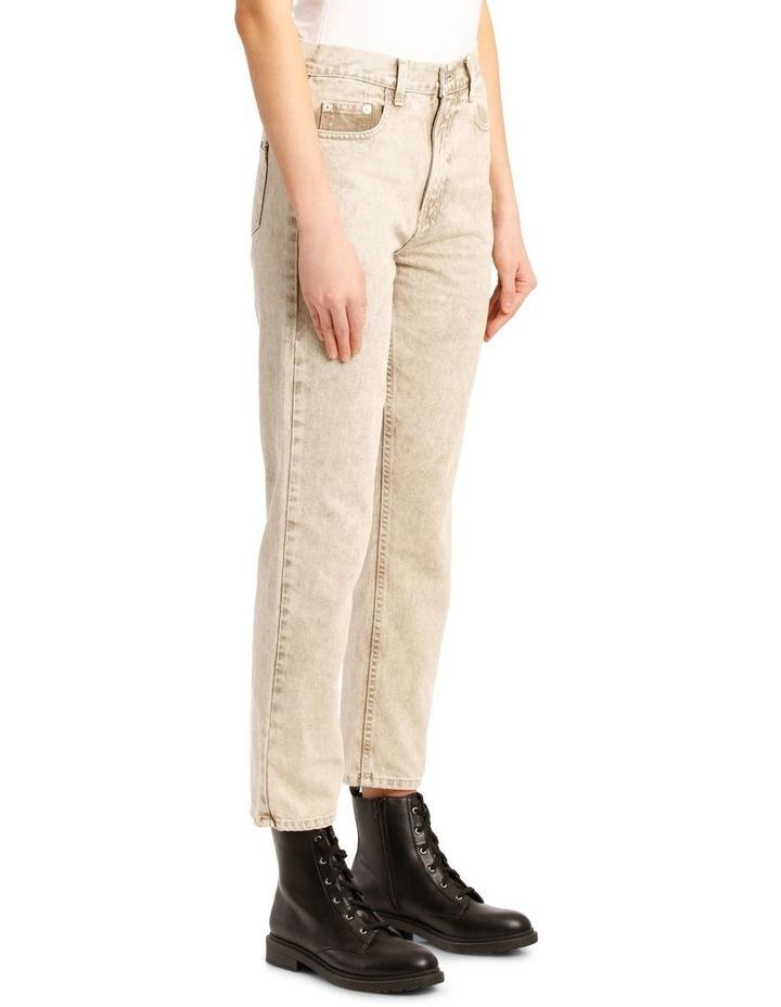 Kick Denim Cropped Straight Pants image 2