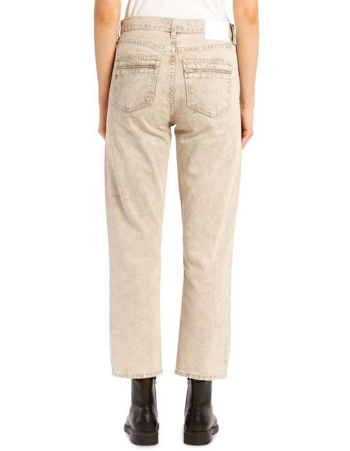 Kick Denim Cropped Straight Pants image 3