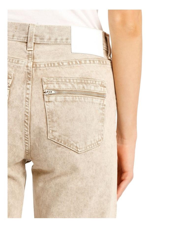 Kick Denim Cropped Straight Pants image 4