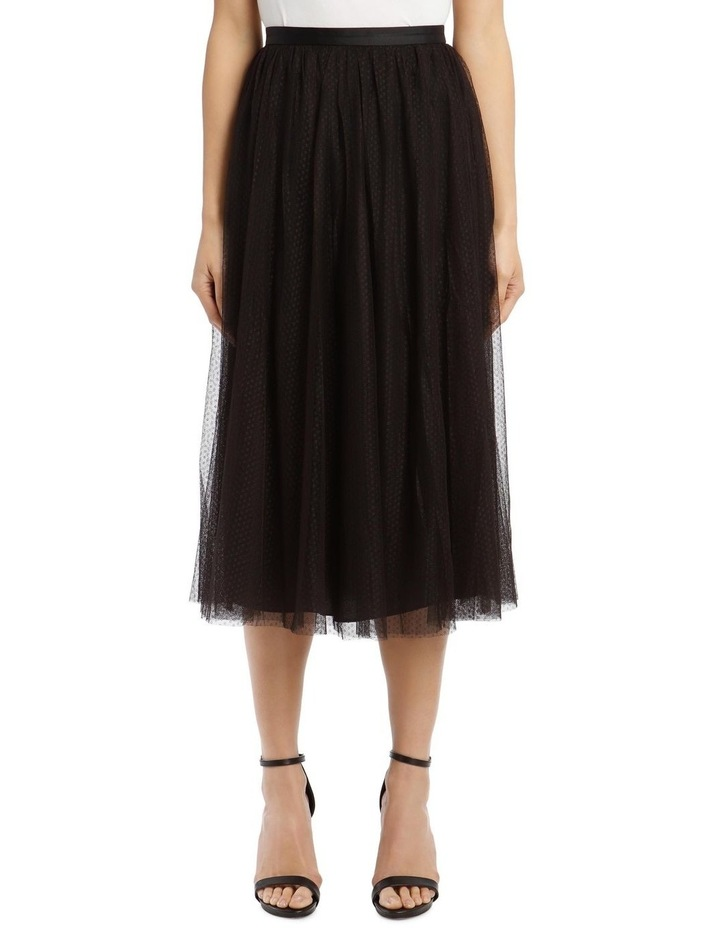 Dotted Tulle Midaxi Skirt image 1