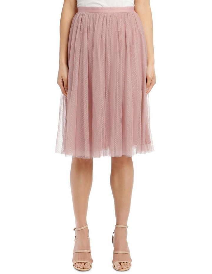 100% authenticated suitable for men/women big discount sale Needle & Thread Dotted Tulle Midi Skirt