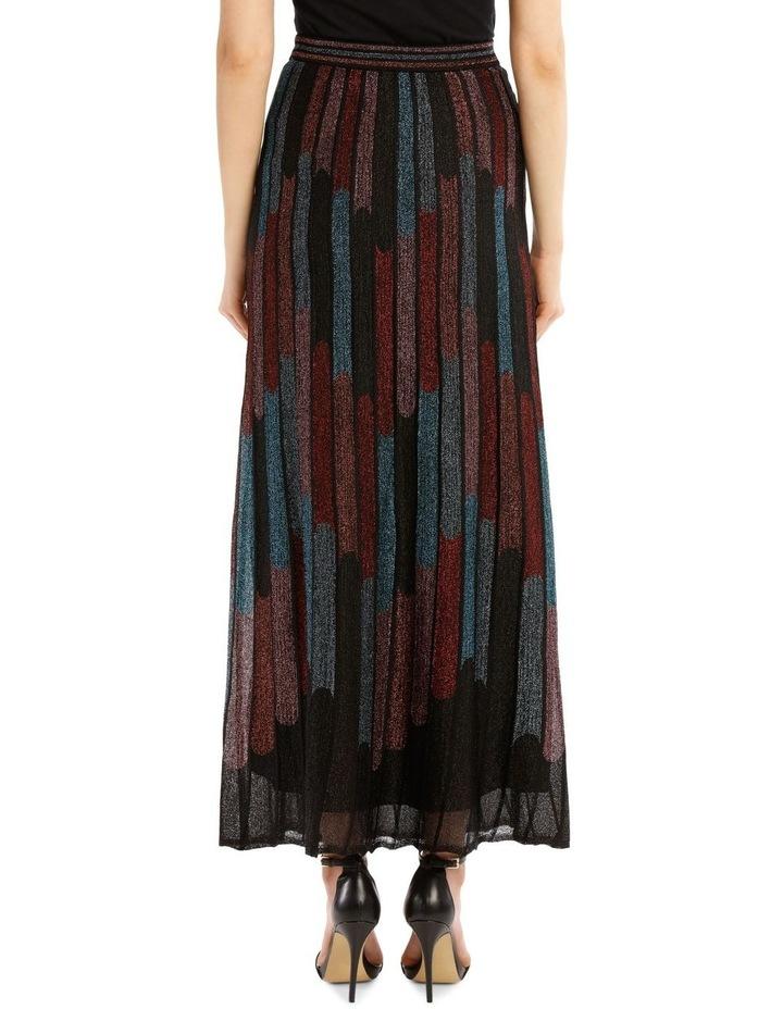 Metallic Pleated Skirt image 2