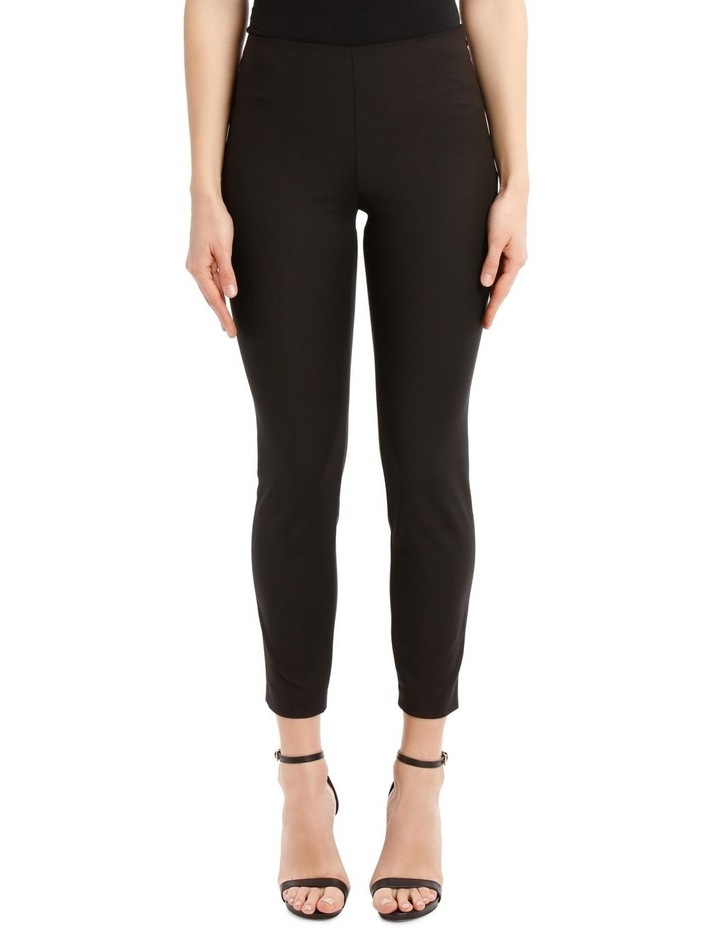 Black Cropped Pants image 1