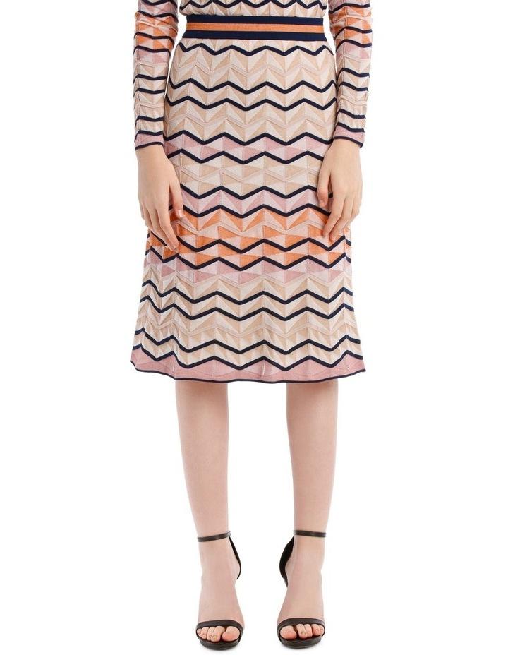 Multicoloured Zigzag Skirt image 1