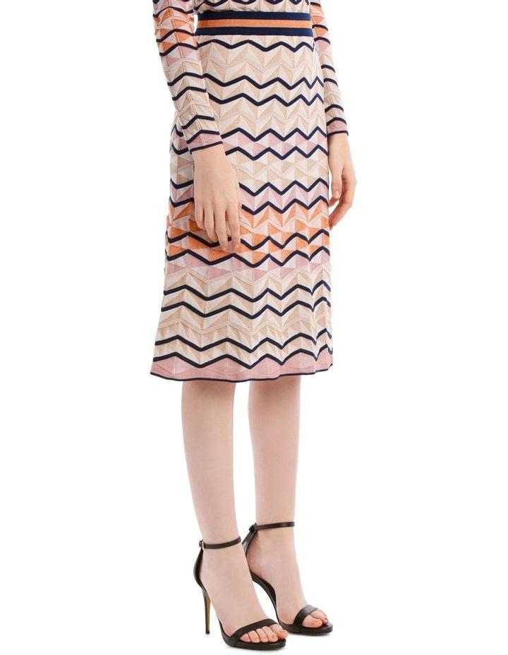 Multicoloured Zigzag Skirt image 2