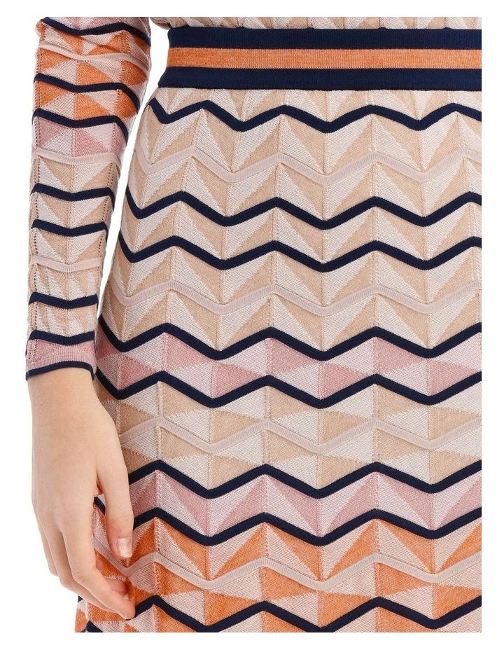Multicoloured Zigzag Skirt image 3