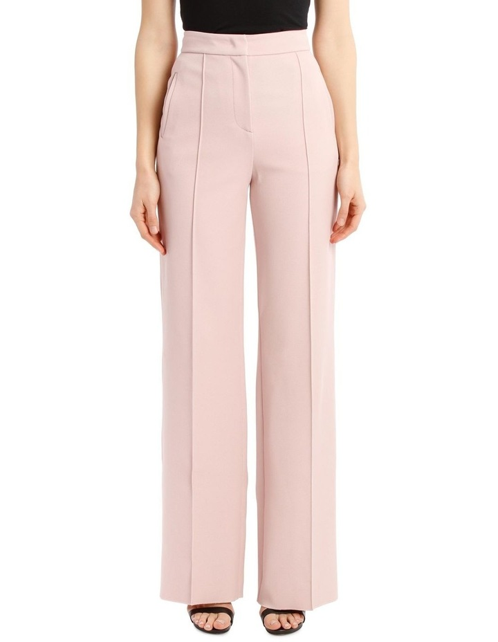 Panelled Straight-Leg Trousers image 1